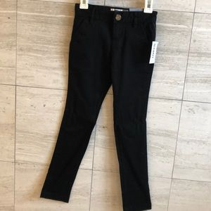 Old Navy Black slim pants size 7